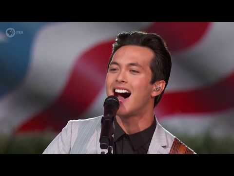 """Laine Hardy Performs """"Johnny B. Goode"""" At The 2019 A Capitol Fourth"""