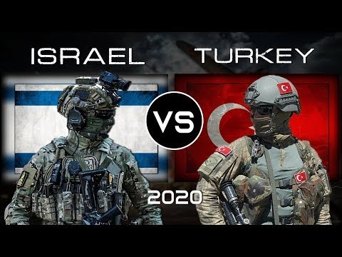 Turkey Vs Israel - Military Power Comparison 2020 |Who Would Win?
