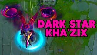 Dark Star Kha'Zix Skin Preview |  LoL PBE Abilities