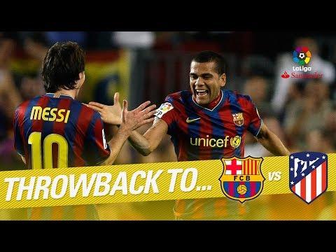 Highlights FC Barcelona vs Atlético de Madrid (5-2) 2009/2010