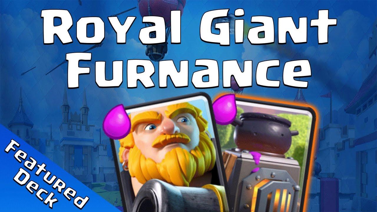 Clash Royale Giant Deck