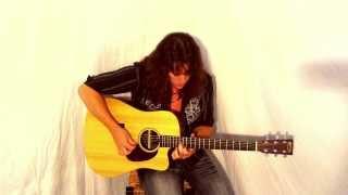 wanted dead or alive bon jovi chris michael taylor acoustic cover