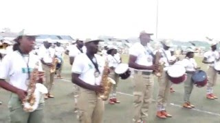 NYSC Band Brigade Ogun State (Colour Party)
