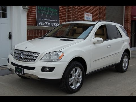 2006 mercedes benz ml500 4matic alabaster white at louis. Black Bedroom Furniture Sets. Home Design Ideas