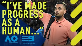 Gambar cover Nick Kyrgios' Australian Open confession   Wide World of Sports