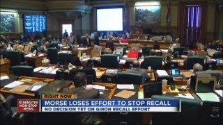 Morse loses effort to stop recall