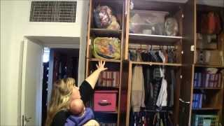 Organized Master Bedroom Closet Makeover