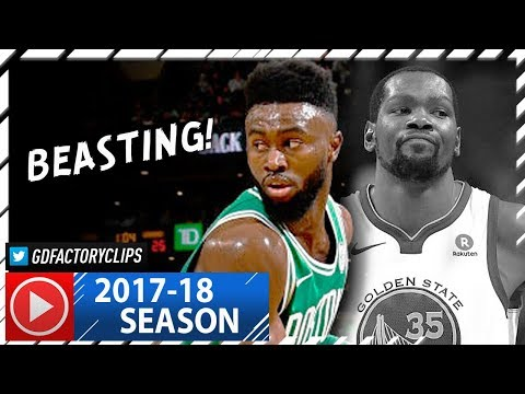 Jaylen Brown Full Highlights vs Warriors (2017.11.16) - 22 Pts, SICK!