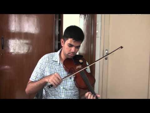 Tum hi ho - Aashiqui 2 Violin Cover song by Vinay Krishna