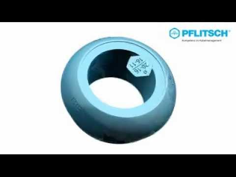 PFLITSCH Kabelverschraubungen: blueglobe