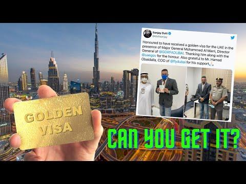 UAE GOLDEN VISA - Benefits, Who can get ?