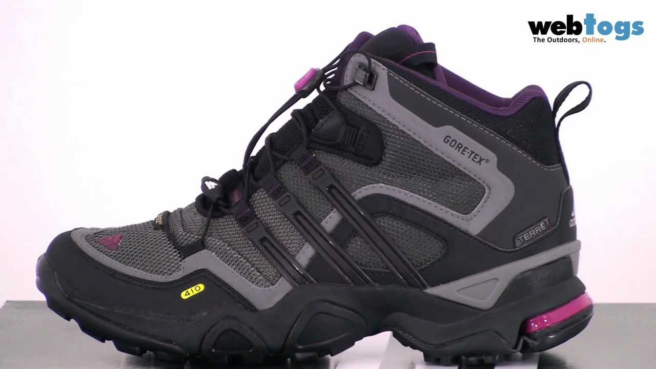 Adidas Terrex Fast X FM GTX Mid Hiking Boots - Lightweight, waterproof  boots - YouTube