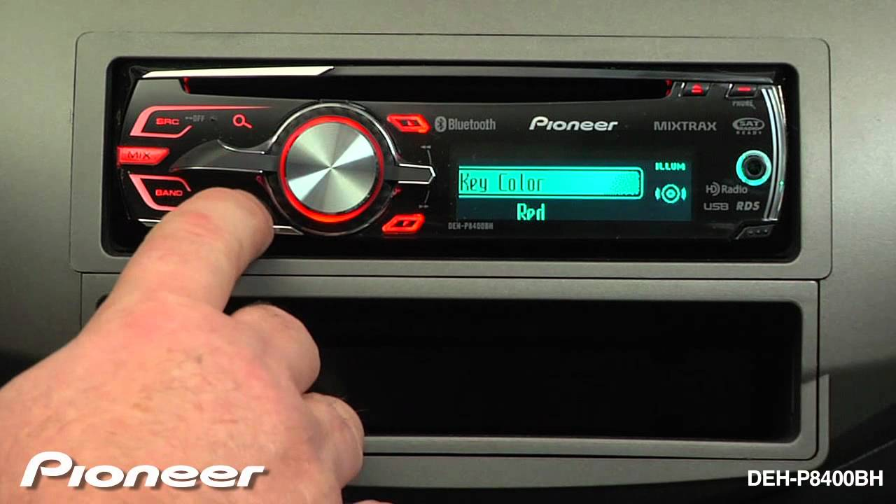 Pioneer Deh 1100mp Car Stereo Wiring Diagram