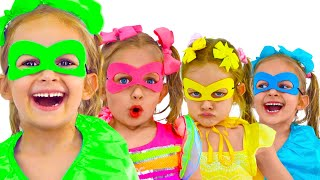 Superheroes Kids Song + More Children Songs by Maya and Mary