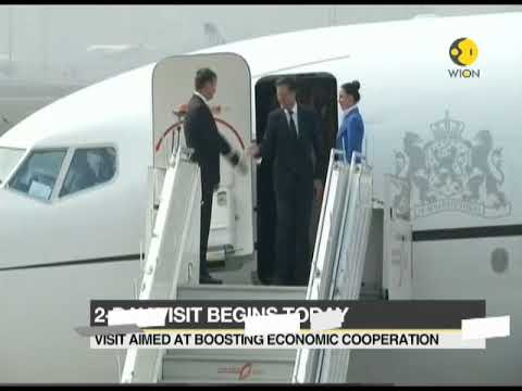 Dutch PM Mark Rutte arrives in India for a two-day visit