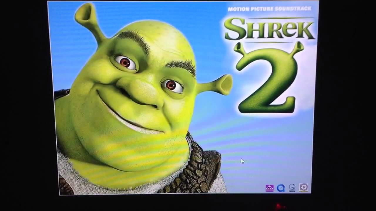 Shrek 2 Enhanced Cd Application Close Youtube