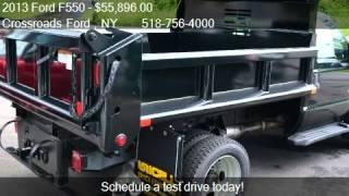 2013 Ford F550 DUMP BODY 4WD - for sale in Ravena, NY 12143