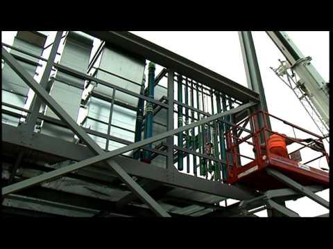 Heathrow Terminal 2 Module Test Lift - Select Plant Hire
