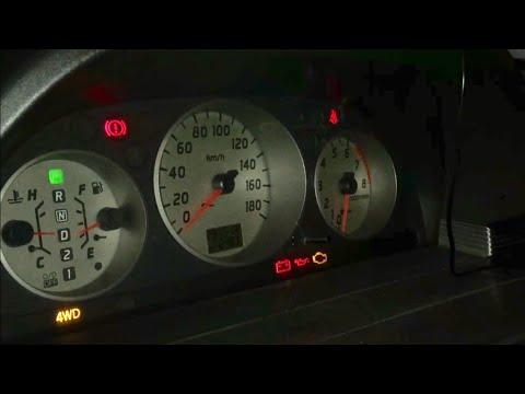Как сбросить ошибку (чек) NT 30, самодиагностика ошибок QR 20(check engine) на Nissan X-trail nt-30,