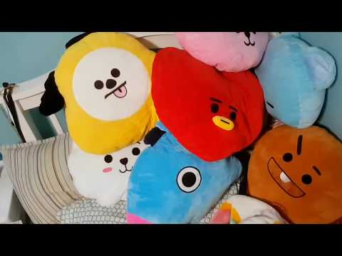 BT21 Pillow Unboxing