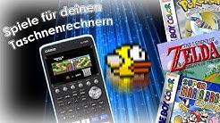 Spiele auf dem Taschenrechner Casio FX-CG50 installieren!