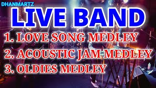 LIVE BAND MEDLEY || LOVE SONG | ACOUSTIC | OLDIES