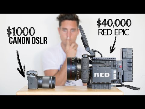 $1000 Camera VS  $40,000 Camera | Explained
