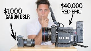 $1000 Camera VS  $40,000 Camera | Explained thumbnail