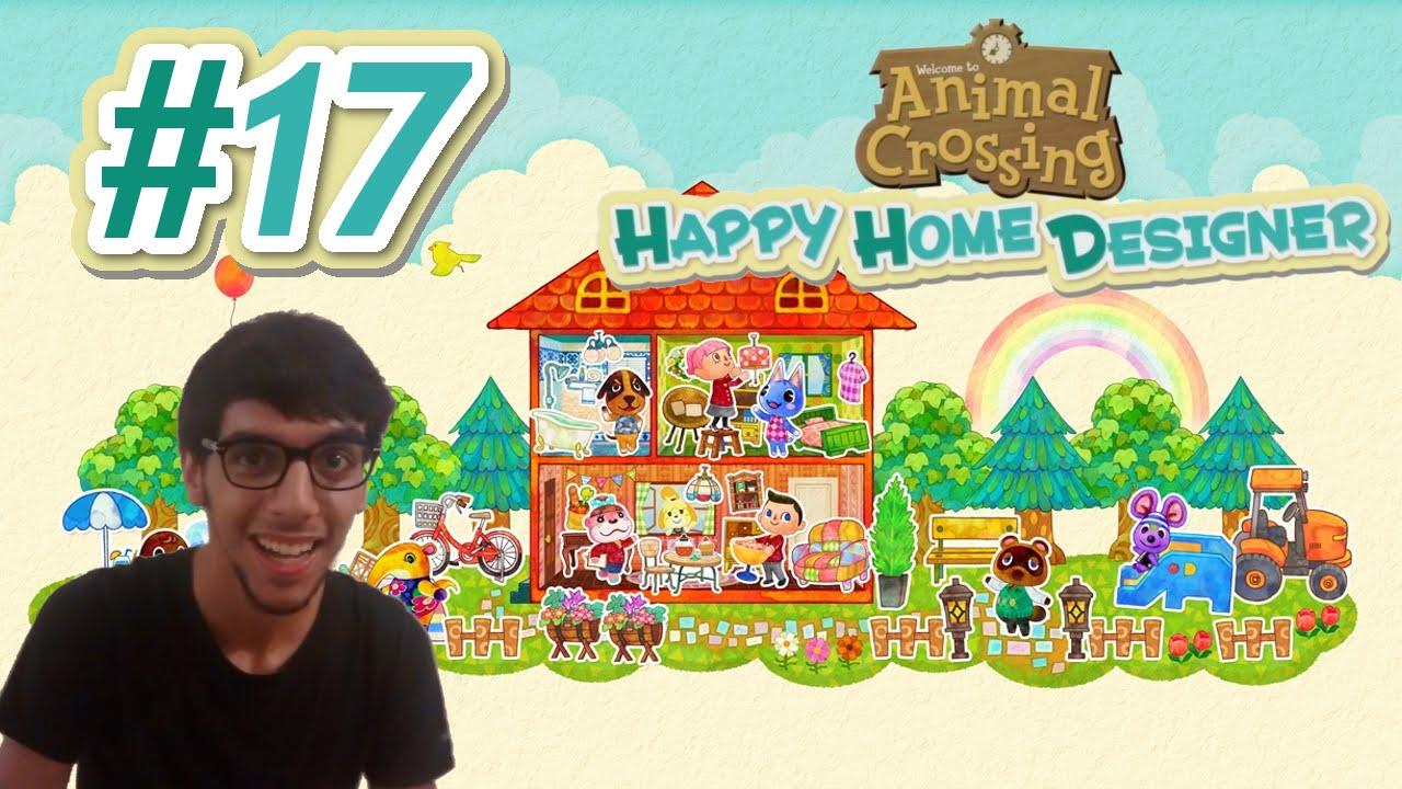 Animal crossing happy home designer ita h come hotel youtube for Animal crossing happy home designer hotel