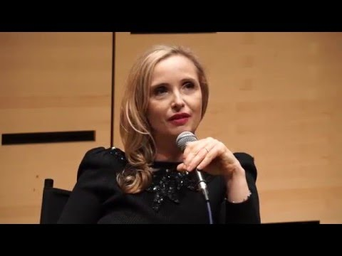 Julie Delpy at the Lincoln Center, New York, MArch 2016 - Masterclass