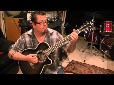 How to play Fishin In The Dark by The Nitty Gritty Dirt Band on guitar by Mike Gross