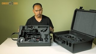 DJI Ronin-M Carry On Sized Custom Hard Case
