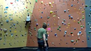 Wall Climbing FAIL
