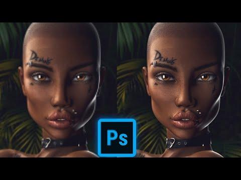 Как увеличить изображение без потери качества в Photoshop