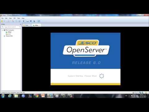 instalar sco openserver 6.0 en una máquina virtual