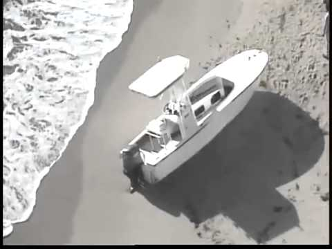 Boat discovered on Palm Beach