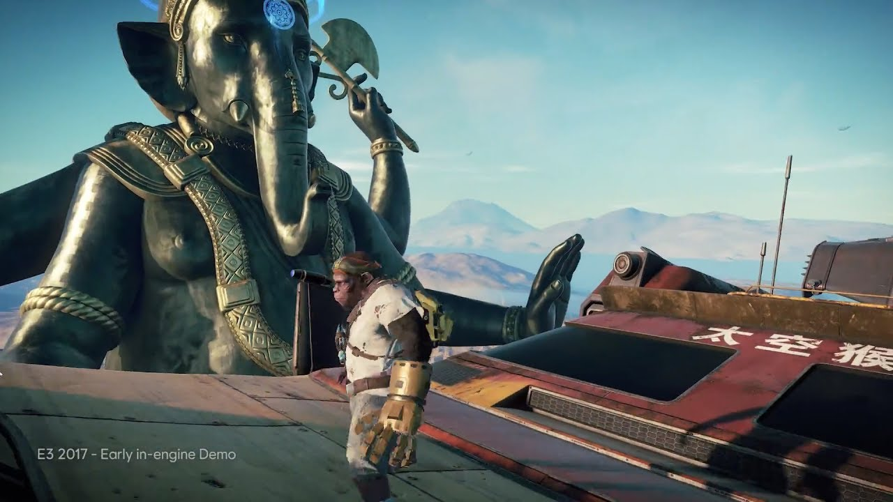 Beyond good and evil 2 gameplay walkthrough demo e3 2017 youtube.