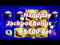 100$ BET High Limit EUREKA Slot Machine!!! JACKPOT HANDPAY ...
