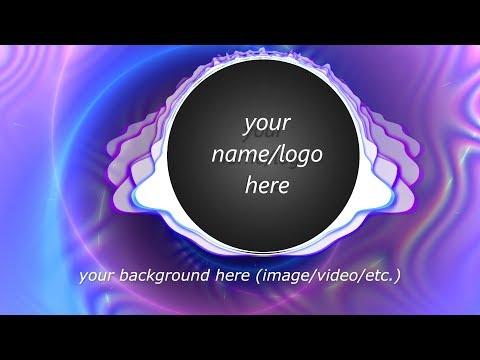 Magic music visualizer -- circular spectrum demo