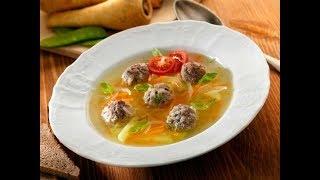 Рецепт супа с фрикадельками, картошкой, рисом