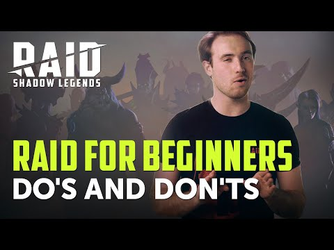 RAID: Shadow Legends | RAID For Beginners | Do's And Don'ts