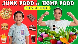 Home food is healthier than junk food. this the moral of video. please like & share with your friends. for new episode every thursday : subscribe - a...