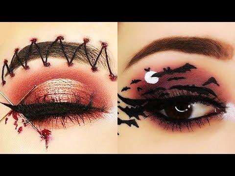 Halloween Makeup Look 2019 Halloween Makeup Tutorials Compilation #5