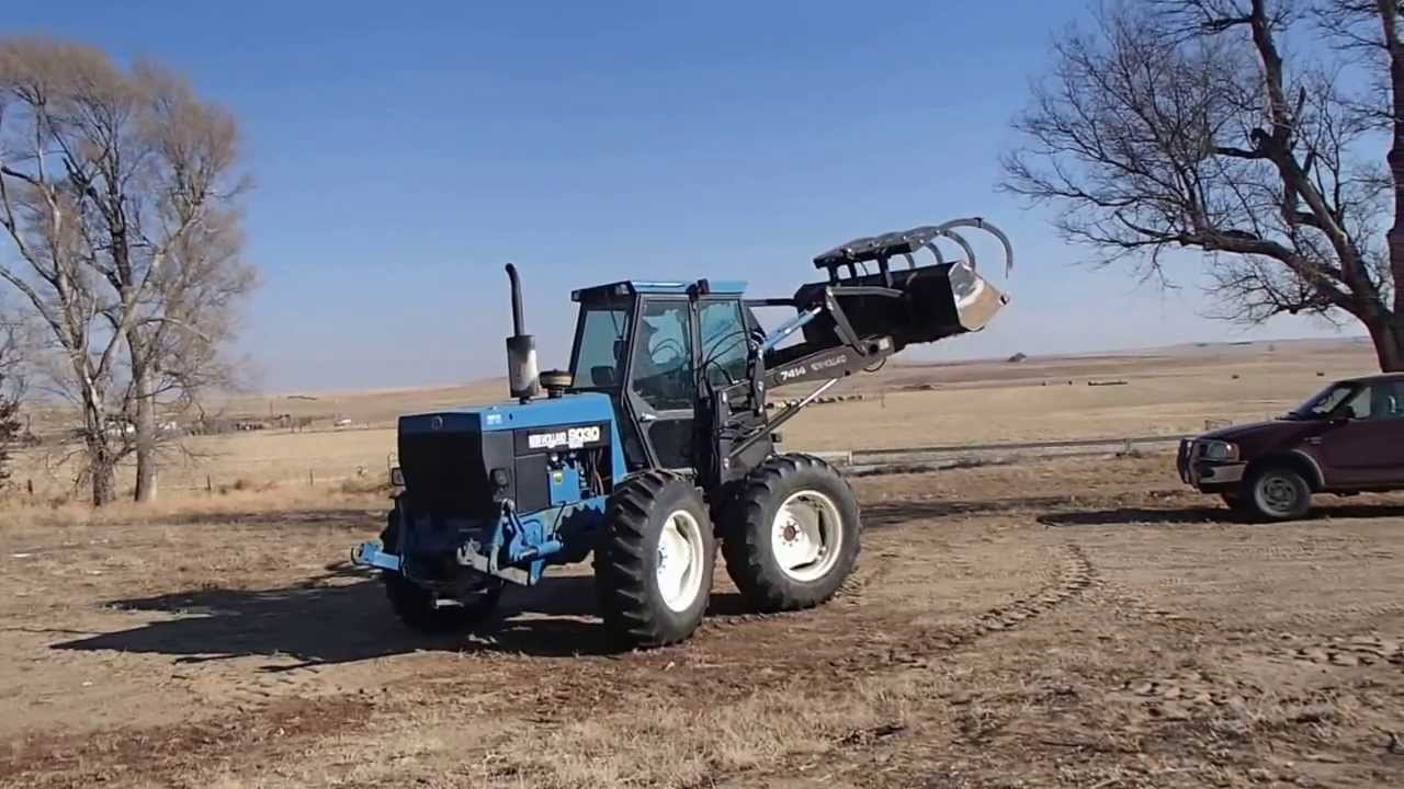 New Holland Tractor People : Big iron online auction new holland bi directional