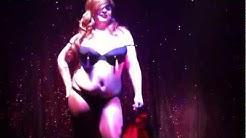 (Aunty) Glenda Coco does a striptease in AXM Club Manchester