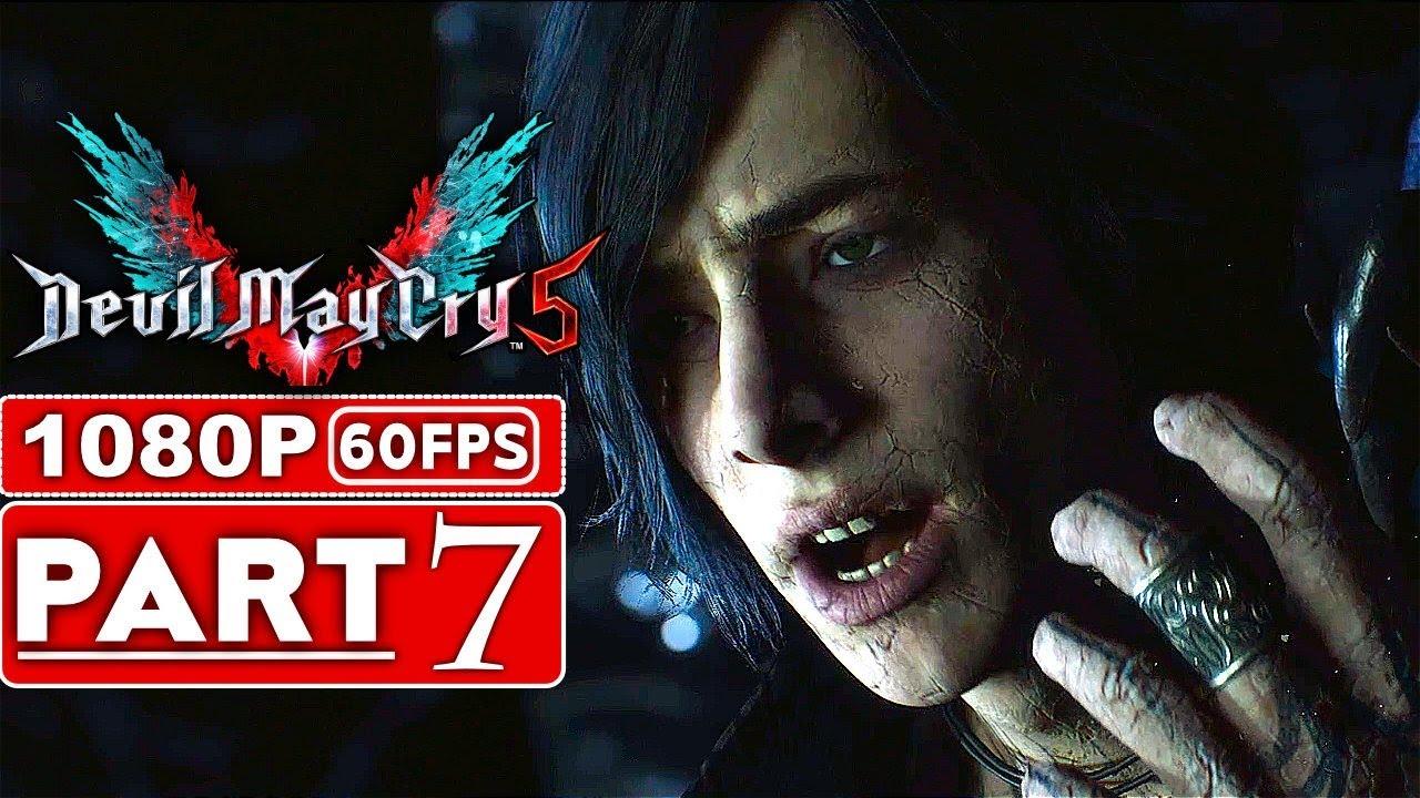TEUFEL MAI SCHREI 5 Gameplay Walkthrough Teil 7 [1080p HD 60FPS Xbox One X] - Kein Kommentar (DMC 5) + video
