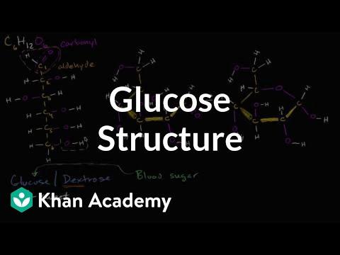 Molecular structure of glucose | Macromolecules | Biology | Khan Academy