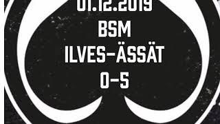 Juniori-Ässät - B1-joukkue - 01.12.2019 BSM Ilves-Ässät Maalikooste
