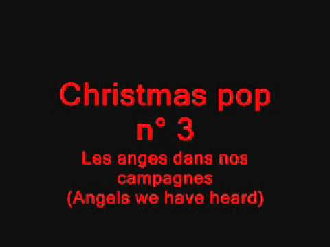 Christmas Pop (6 famous Christmas melodies) for voice/instruments with background Video sheet music