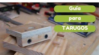 Guia para tarugos de madera
